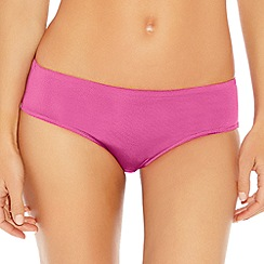 b.tempt'd - Pink 'b sleek' bikini briefs
