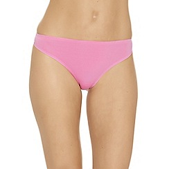 b.tempt'd - Pale pink 'B Sleek' invisible thong