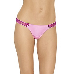 b.tempt'd - Pale pink 'Most Desired' thong