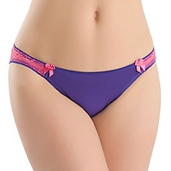 b.tempt'd - Dark pruple 'Most Desired' bikini brief