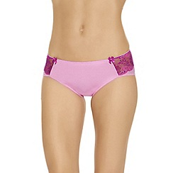 b.tempt'd - Pale pink 'Most Desired' hipster briefs