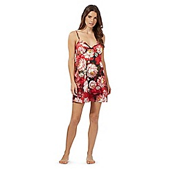B by Ted Baker - Red rose print chemise