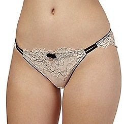 B by Ted Baker - Limited edition pink lace brazilian briefs