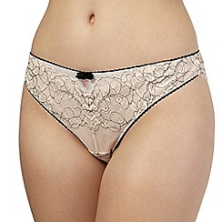 B by Ted Baker - Pale pink lace thong