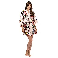 B by Ted Baker - Pink painted floral kimono