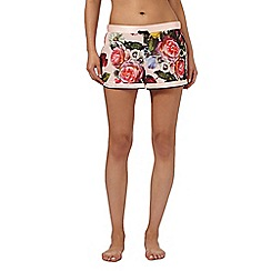 B by Ted Baker - Pink painted floral shorts