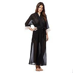 B by Ted Baker - Black lace trim kimono