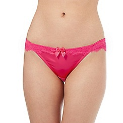 Floozie by Frost French - Pink floral Brazilian briefs