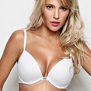 White 'The One' plunge bra