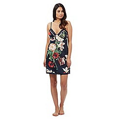 B by Ted Baker - Navy bloom print chemise