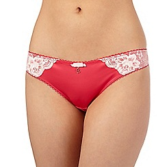 B by Ted Baker - Pink floral lace Brazilian briefs
