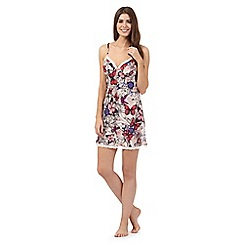 B by Ted Baker - Pink butterfly print chemise