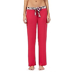 B by Ted Baker - Pink butterfly waist pyjama bottoms