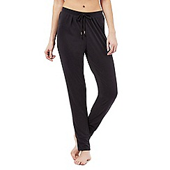 Nine by Savannah Miller - Black super-soft luxury pyjama bottoms