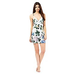 B by Ted Baker - Light green rose print chemise