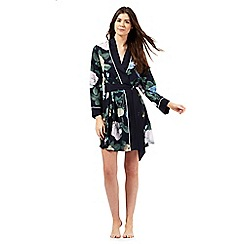 B by Ted Baker - Navy rose print kimono