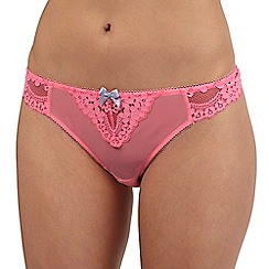 Floozie by Frost French - Pink lace thong