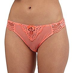 Floozie by Frost French - Orange lace thong