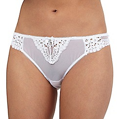 Floozie by Frost French - White lace thong