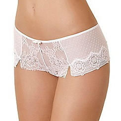 Passionata - Ivory 'Blossom' shorts