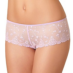 Passionata - Purple 'White Nights' shorts