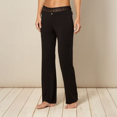 B by Ted Baker Black lace pyjama bottoms - . -