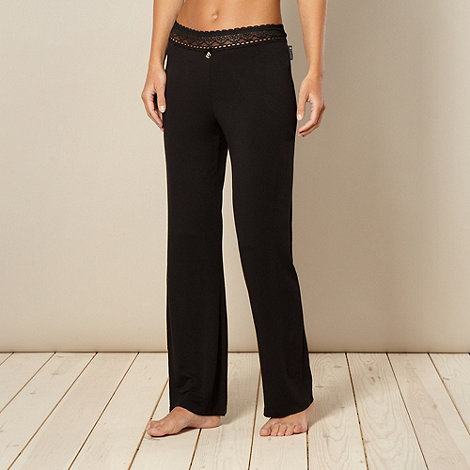 B by Ted Baker - Black lace pyjama bottoms