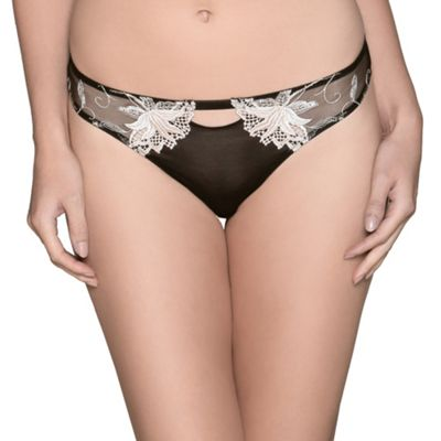 Adore Moi by Ultimo Black ´Delphine´ thong - . -