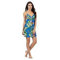 B by Ted Baker - Bright blue floral print chemise
