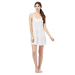 Nine by Savannah Miller - White lace chemise