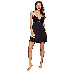 B by Ted Baker - Black lace chemise