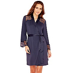 B by Ted Baker - Navy lace trim wrap