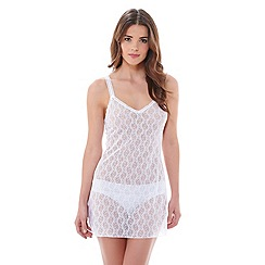 b.tempt'd - White 'Lace Kiss' chemise
