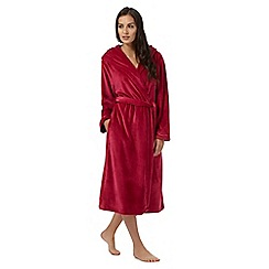 B by Ted Baker - Red hooded dressing gown
