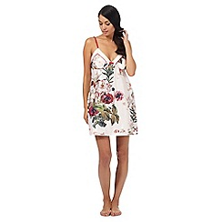 B by Ted Baker - Light pink 'Opulent Bloom' floral print chemise