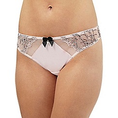 Floozie by Frost French - Light pink satin Brazilian briefs