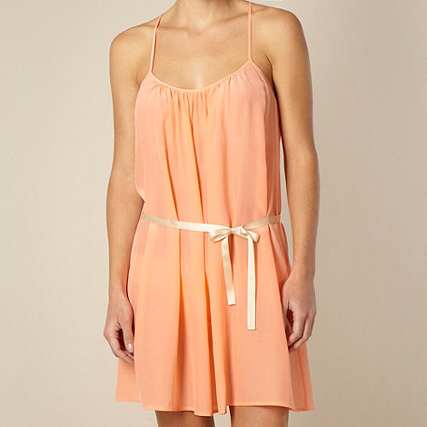 Princesse Tam Tam - Orange silk chemise