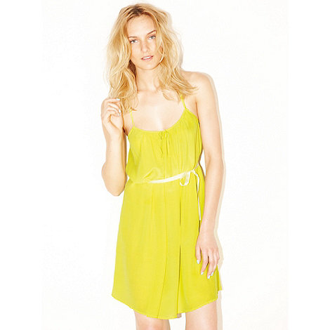 Princesse Tam Tam - Bright yellow silk chemise