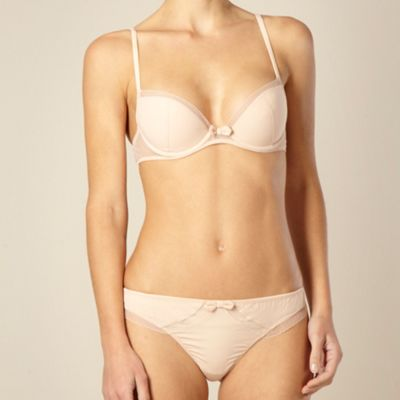 Natural padded push-up bra