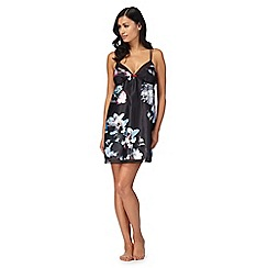 B by Ted Baker - Black floral print 'Ethereal Posey' chemise