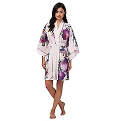 B by Ted Baker - Light pink 'Sunlit Floral' print kimono
