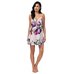 B by Ted Baker - Light pink 'Sunlit Floral' print chemise