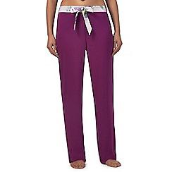 B by Ted Baker - Purple 'Sunlit Floral' pyjama bottoms