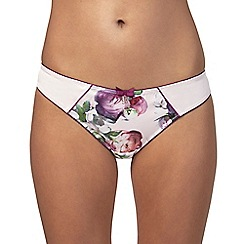 B by Ted Baker - Pink 'Sunlit Floral' bikini knickers