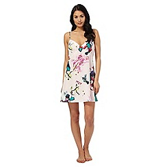 B by Ted Baker - Pink 'Midnight Fuschia' print chemise