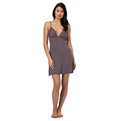 B by Ted Baker - Grey lace chemise