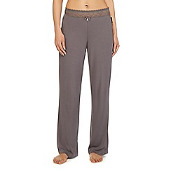 B by Ted Baker - Grey lace pyjama bottoms