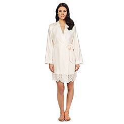 B by Ted Baker - Light pink lace dressing gown