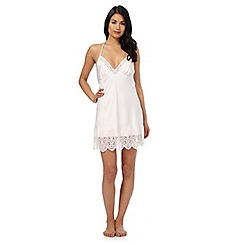 B by Ted Baker - Light pink 'Tie the Knot' lace chemise