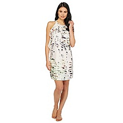 B by Ted Baker - White diamond print 'Crystal Droplets' chemise